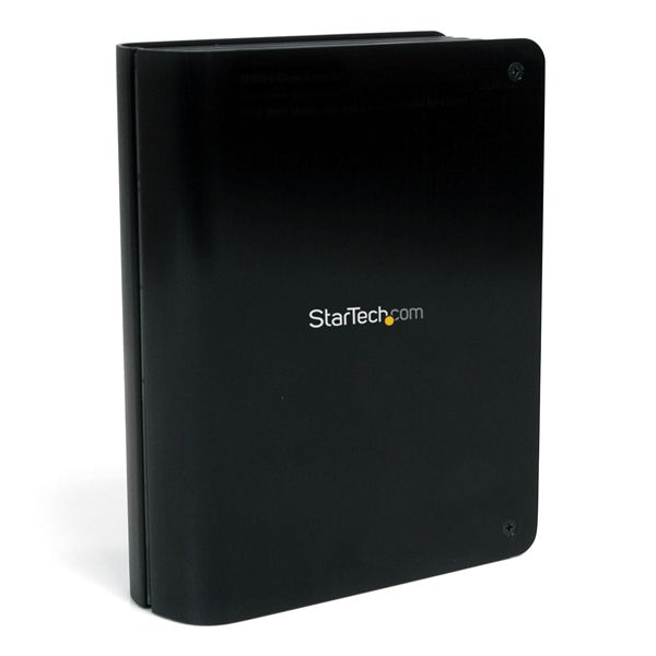 "StarTech.com USB 3.0 to 3.5"" SATA III Hard Drive Enclosure with Fan and Upright Design - SATA 6 Gbps & UASP Support"