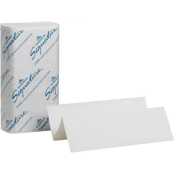 Signature 2-Ply Premium Multifold Paper Towels