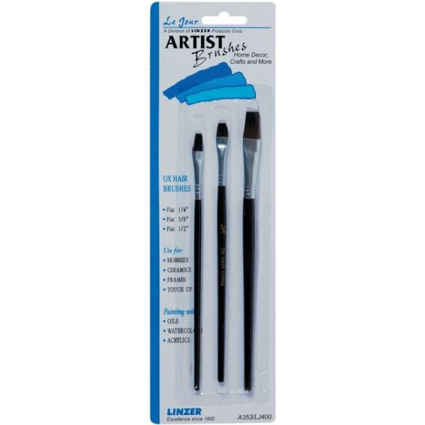 Ox Hair Artist Brush Set