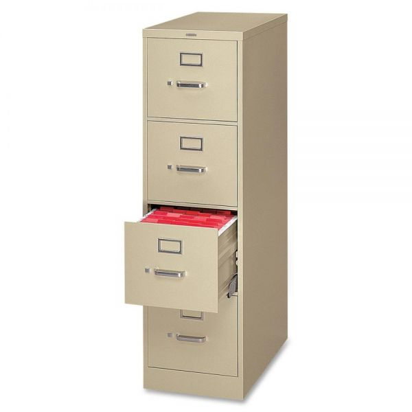 HON 320 Series 4-Drawer Vertical File Cabinet