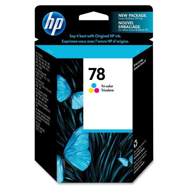 HP 78 Tri-Color Ink Cartridge (C6578DN)