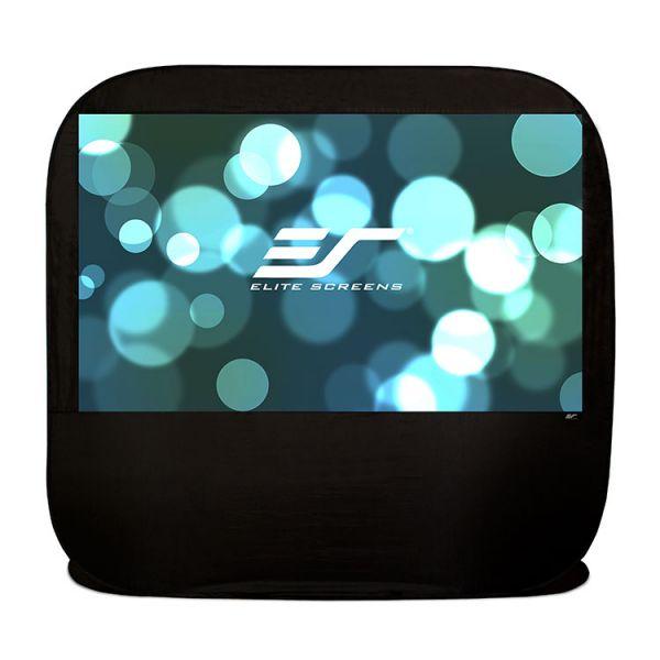 """Elite Screens Pop-up Cinema POP92H Projection Screen - 92"""" - 16:9 - Floor Mount"""