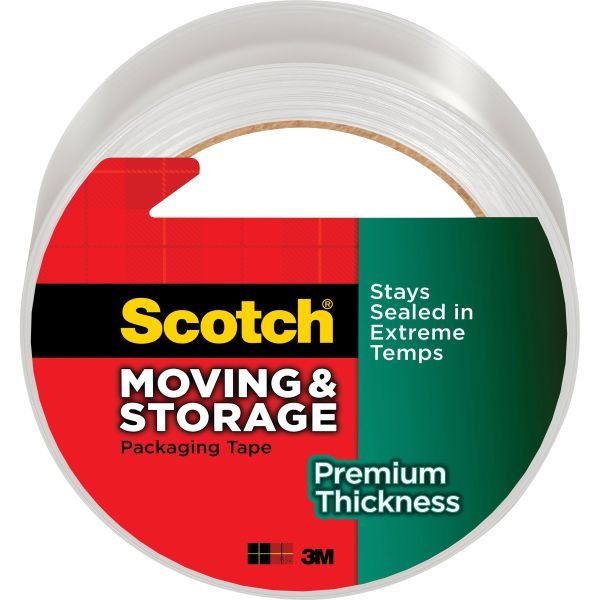 Scotch Premium Thickness Moving/Storage Packaging Tape