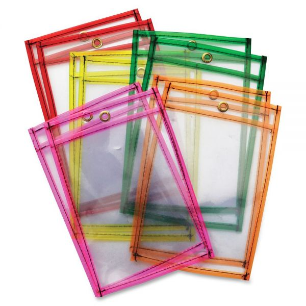 ChenilleKraft Dry-Erase Pockets