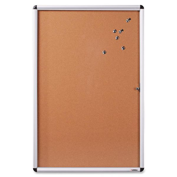 Lorell Enclosed Cork Bulletin Boards
