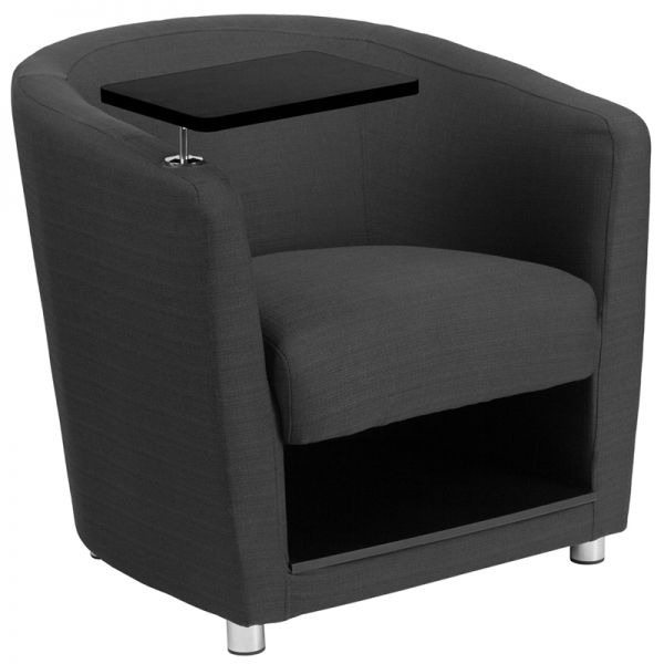 Flash Furniture Gray Fabric Guest Chair