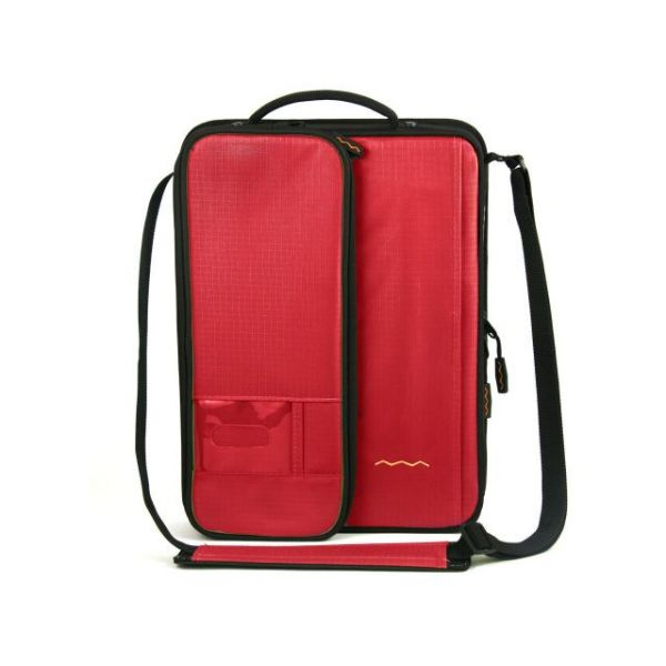 "Higher Ground Shuttle 2.1 Carrying Case (Sleeve) for 14"" Notebook - Red"