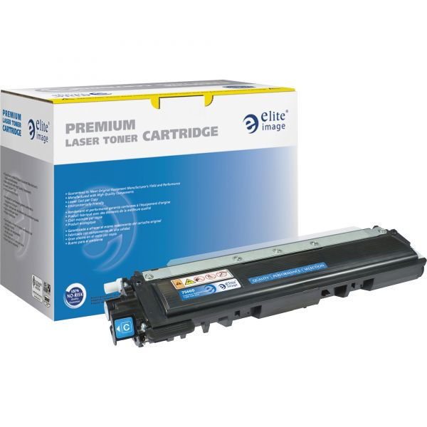 Elite Image Remanufactured Brother TN210C Toner Cartridge