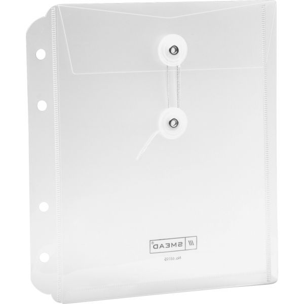 Smead 68195 Clear Poly Security Envelopes
