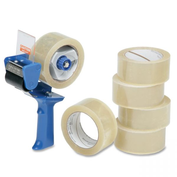 SKILCRAFT 7510-01-579-6872 Packaging Tape with Dispenser