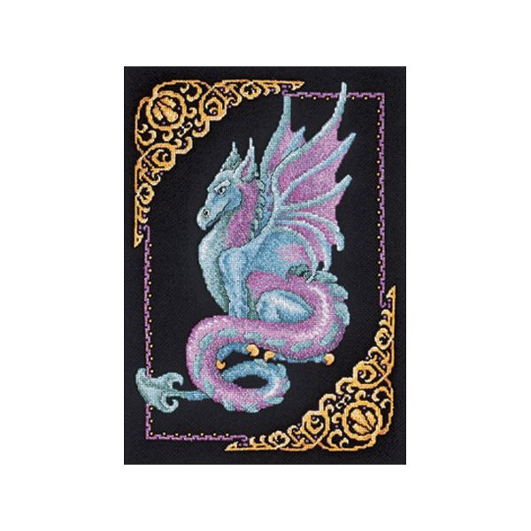 Mythical Dragon Picture Counted Cross Stitch Kit