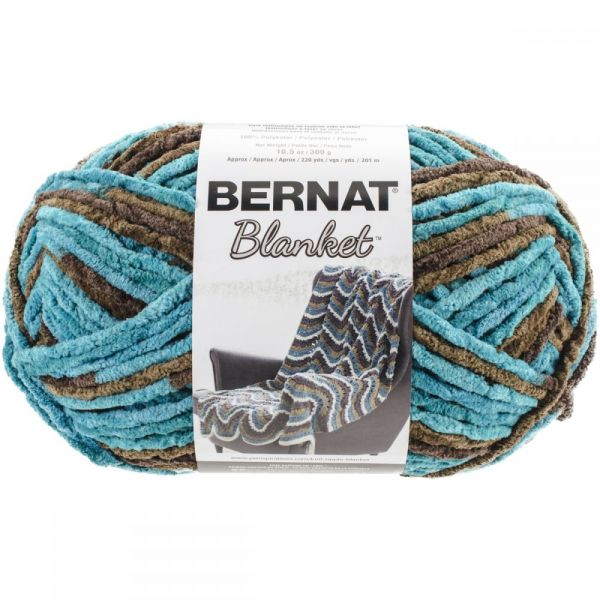 Bernat Blanket Big Ball Yarn - Mallard Wood