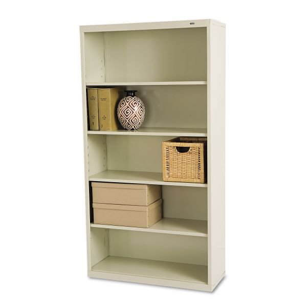 Tennsco Deep 5-Shelf Welded Steel Bookcase