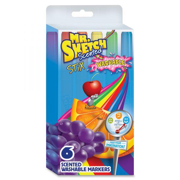 Mr. Sketch Washable Scented Stix Markers