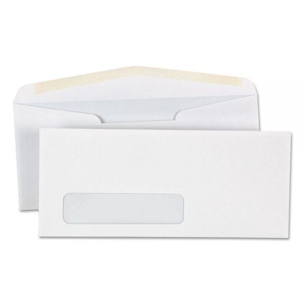 Universal Window Business Envelope, #10, 4 1/8 x 9 1/2, White, 500/Box