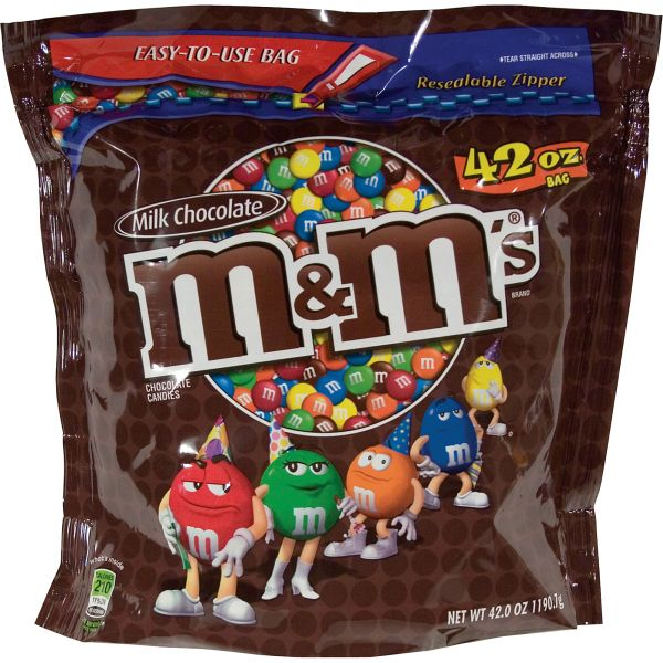 M&M's Plain Chocolate Candy
