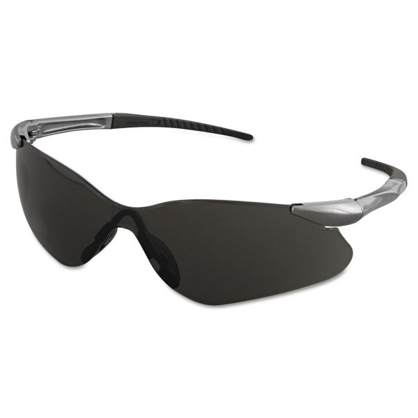 Jackson Safety* V30 Nemesis VL Safety Glasses, Gun Metal Frame, Smoke Lens