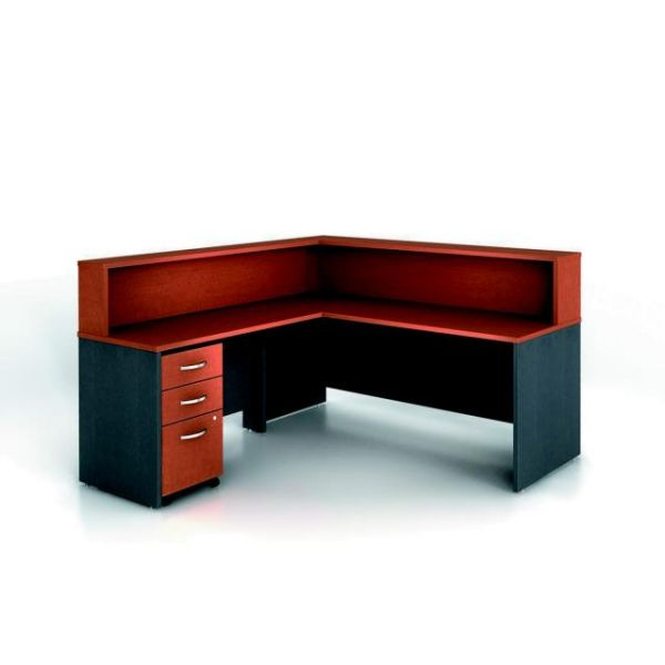 bbf Series C Reception Configuration - Auburn Maple fnish by Bush Furniture