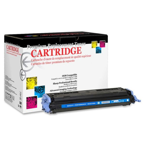 West Point Products Remanufactured HP Q6001A CyanToner Cartridge