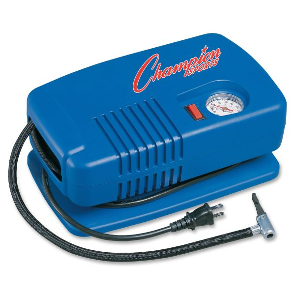 Champion Sports Electric Inflating Pump with Gauge