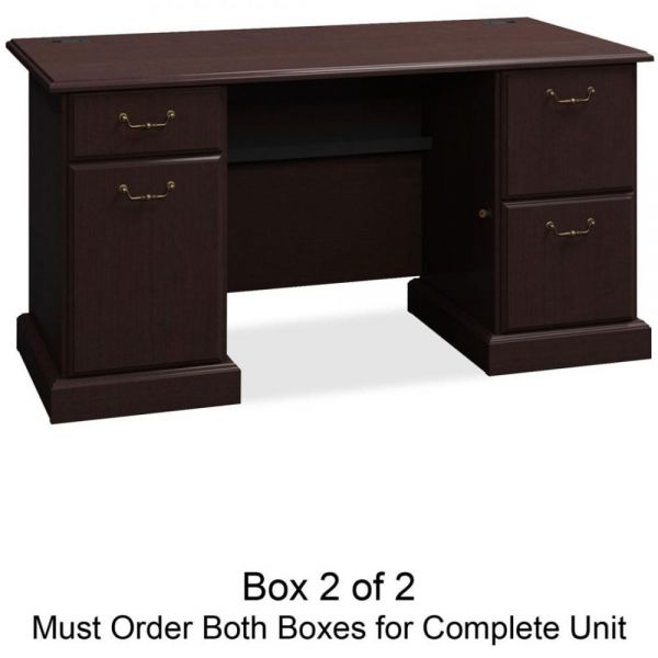 bbf Syndicate Pedestal Desk Box 2 of 2 by Bush Furniture