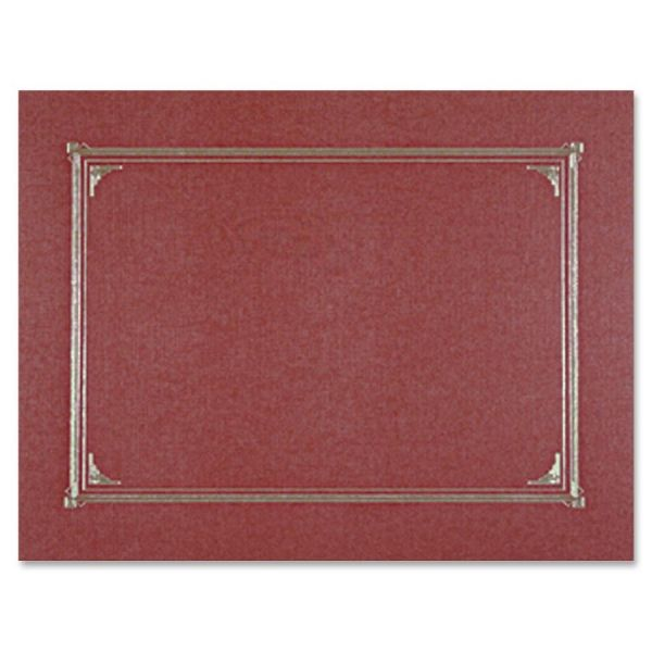 Geographics Burgundy Certificate Holders