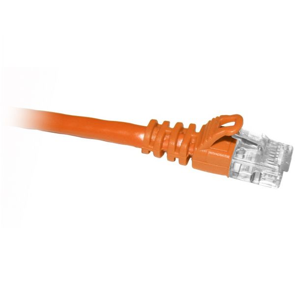 ClearLinks 3FT Cat5E 350MHZ Orange Molded Snagless Patch Cable