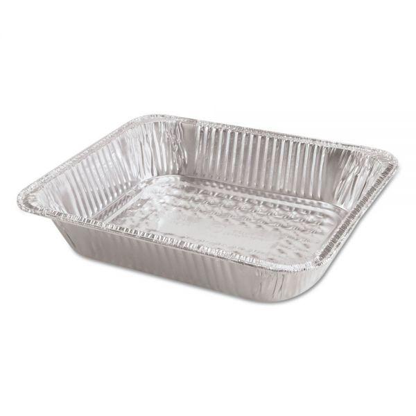 "Handi-Foil of America Steam Table Aluminum Pan, Half-Size, 2 9/16"" Deep, 100/Carton"