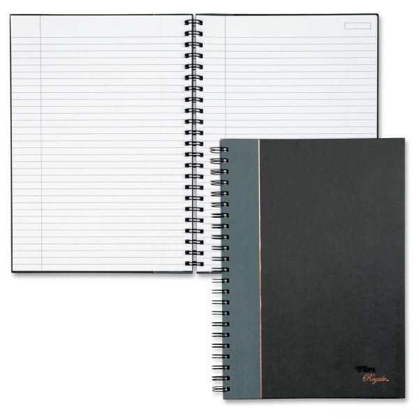 TOPS Royale Wirebound Business Notebook, Legal/Wide, 11 3/4 x 8 1/4, 96 Sheets