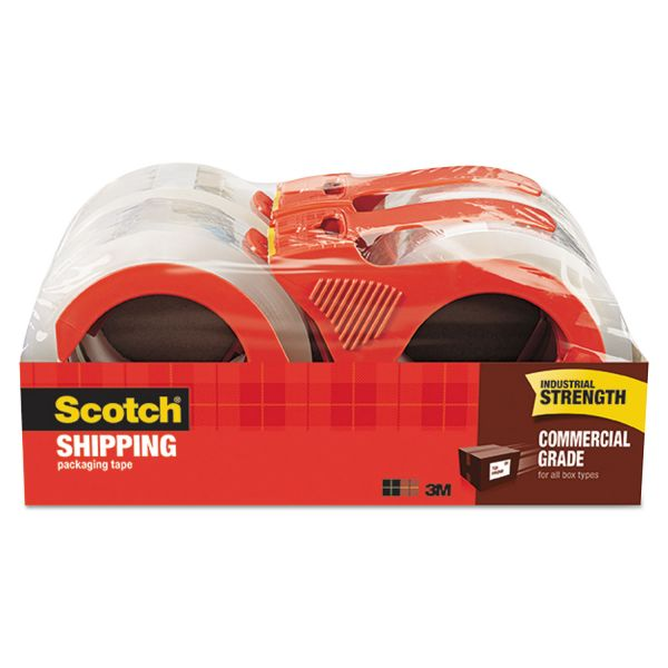 Scotch Commercial Grade Packing Tape with Dispenser