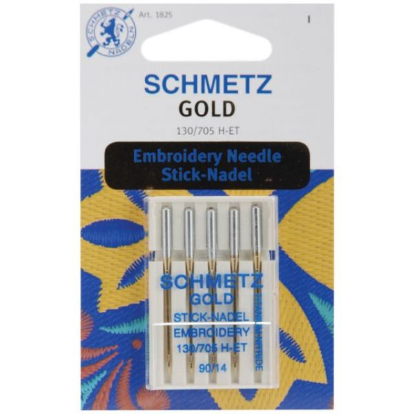 Gold Embroidery Machine Needles