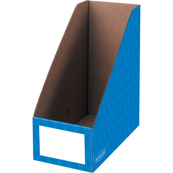 "Bankers Box 6"" Magazine File Holders"