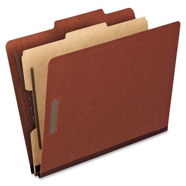 Oxford 1-Divider Pressboard Classification Folders