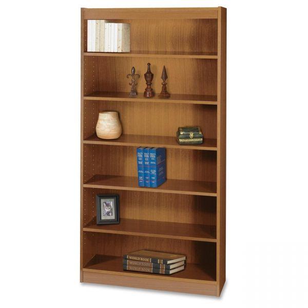 Safco Square-Edge 6-Shelf Bookcase