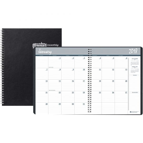 House of Doolittle Ruled Monthly Planner with Expense Log