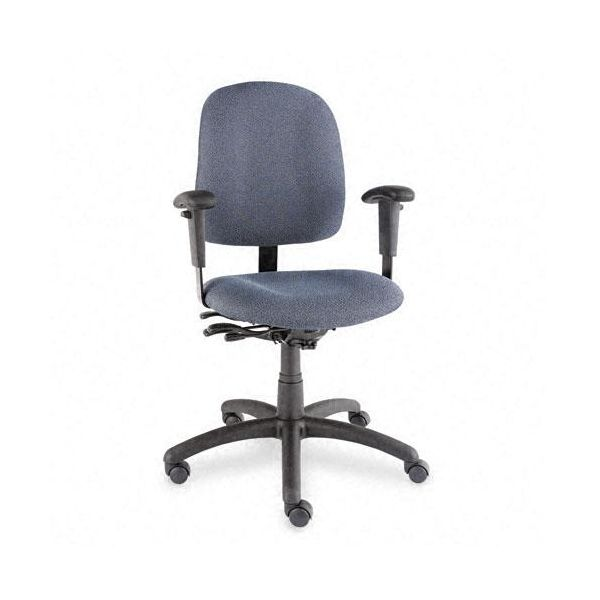 Global Goal Series Low-Back Swivel/Multi-Tilter Chair