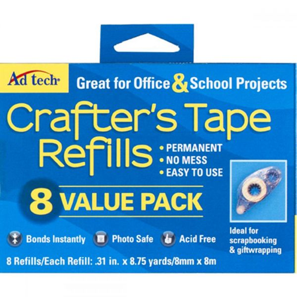 Ad Tech Crafter's Tape Refills