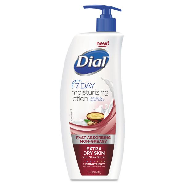 Dial 7-Day Moisturizing Lotion