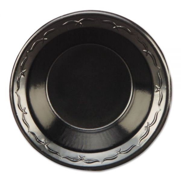 "Genpak 10.25"" Plastic Compartment Plates"