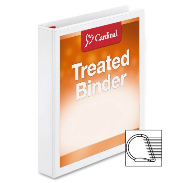 "Cardinal Antimicrobial 1 1/2"" 3-Ring View Binder"