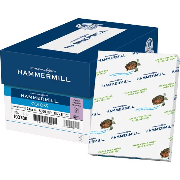Hammermill Recycled Colored Paper - Orchid