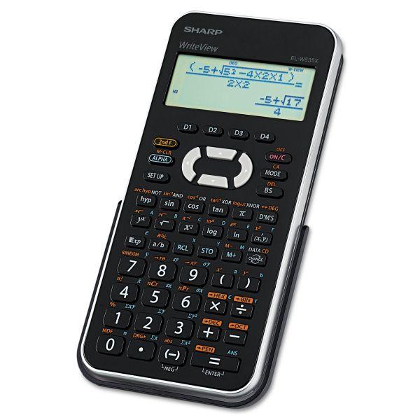 Sharp EL-W535XBSL Scientific Calculator