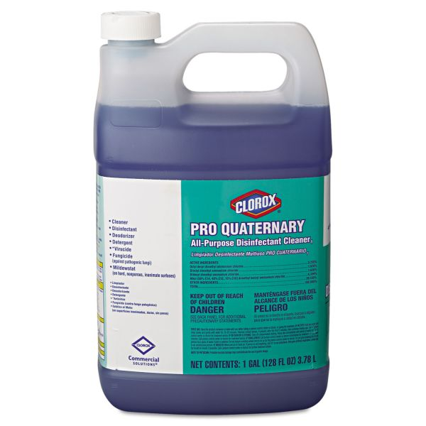 Clorox Pro Quaternary All-Purpose Disinfectant Cleaner