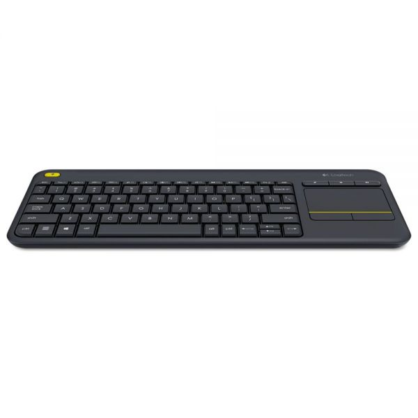 Logitech Wireless Touch Keyboard K400 Plus, Black