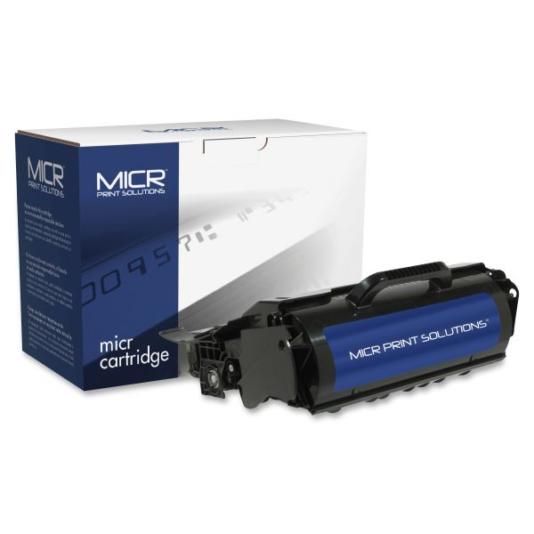 MICR Print Solutions Remanufactured Lexmark T650A11A Black Toner Cartridge