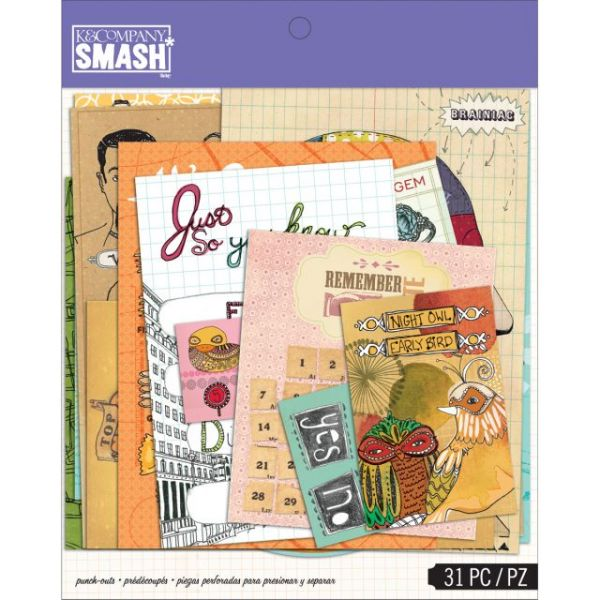 SMASH Punch-Out Assortment 31/Pkg