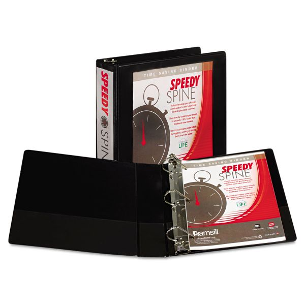 "Samsill Speedy Spine 2"" 3-Ring Binder"
