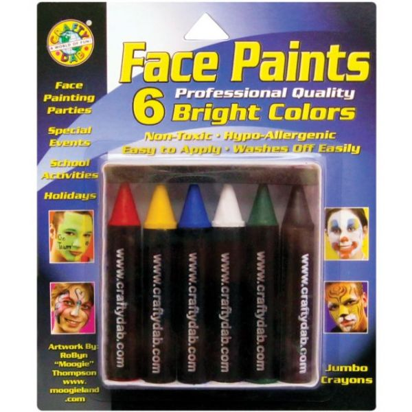 Face Paint Jumbo Crayons