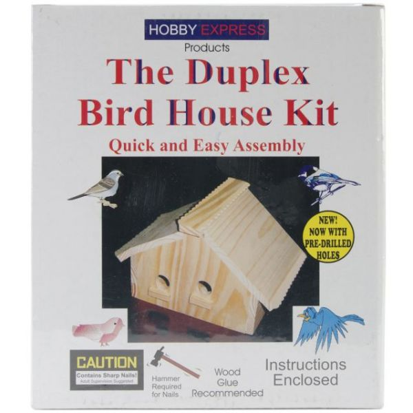 Hobby Express Duplex Bird House Kit