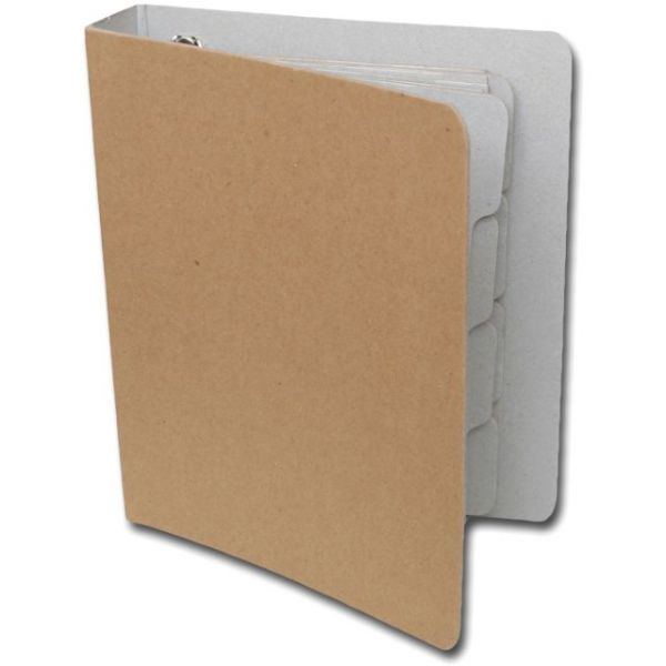 "Maya Road Die-Cut Chipboard D-Ring Binder 7.5""X9"""